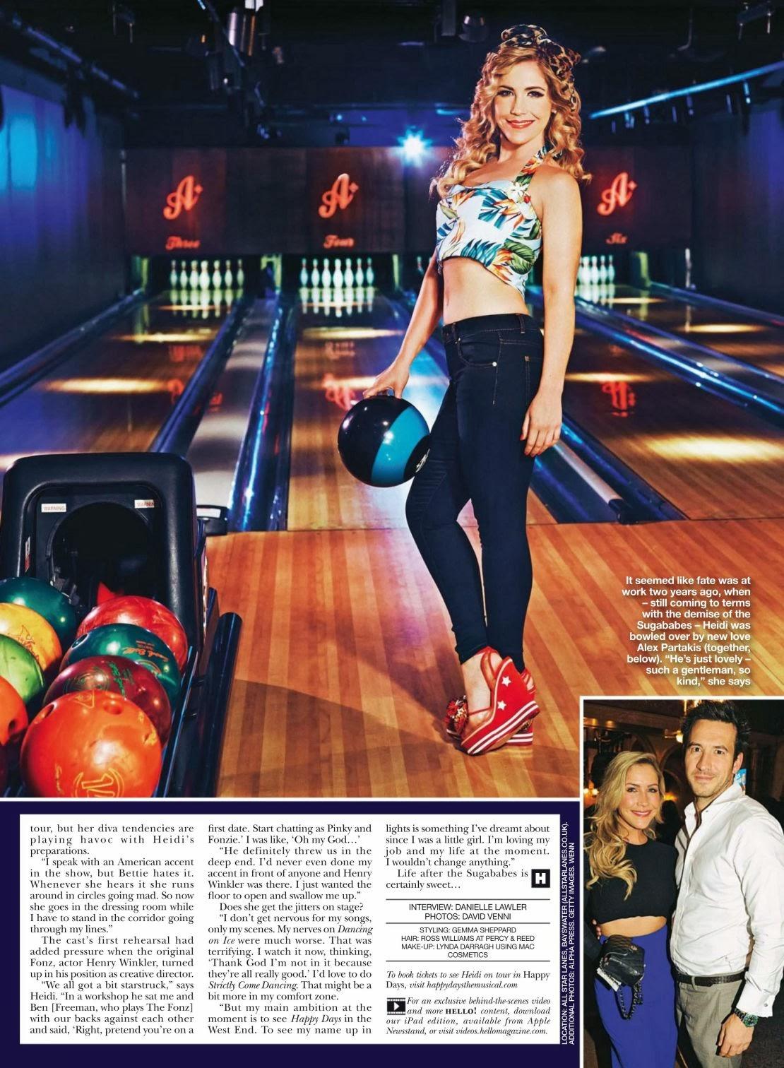 Heidi Range HQ Pictures Hello UK Magazine Photoshoot February 2014