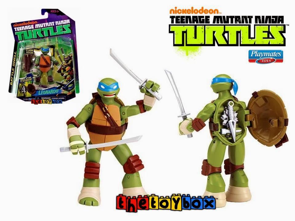 The toy box nickelodeon teenage mutant ninja turtles battle shell