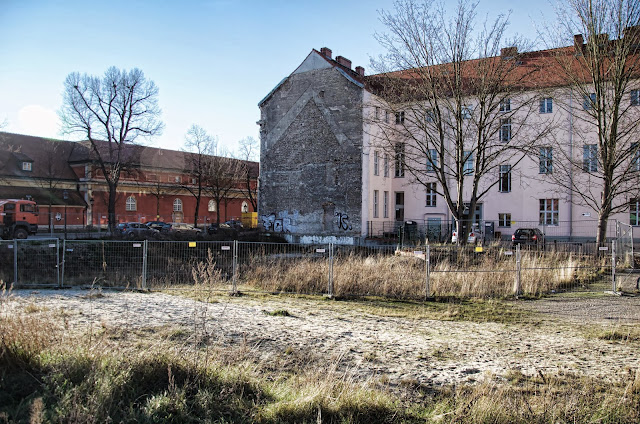 Baustelle Potsdam, Generationenhaus, Friedrich-Ebert-Straße / Schloßstraße, 14467 Potsdam, 11.01.2014