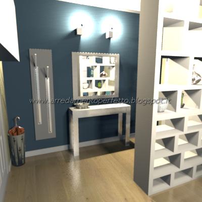 porte separa stanze : Consigli darredo: Separare lingresso dal soggiorno: le librerie ...