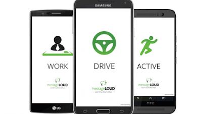 أجهزة أندرويد, الرئيسية, تطبيقات اندرويد, تطبيق messageLOUD, تطبيق messageLOUD لقراءة الرسائل أثناء القيادة على أندرويد,متجر جوجل بلاي,