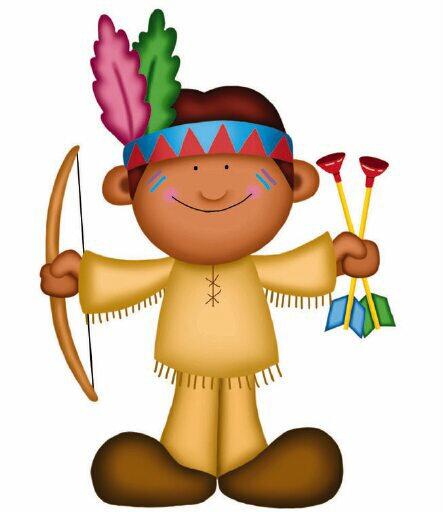 Dibujos de indios animados - Imagui