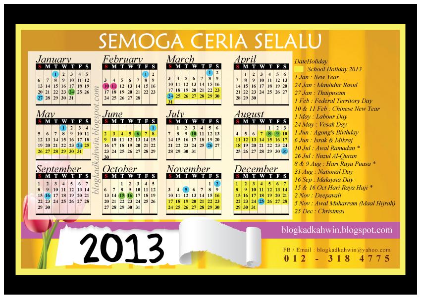 Pilihlah tarikh yang sesuai untuk majis anda