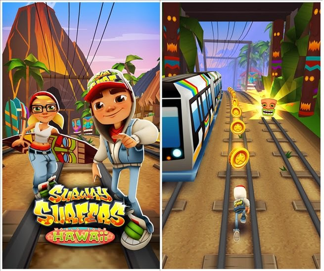 Subway Surfers Brings Hawaii Theme for Windows Phone