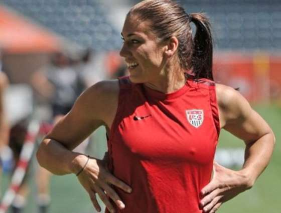 Alex Morgan hot nipples