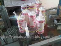 Botol bekas olie mesin vespa