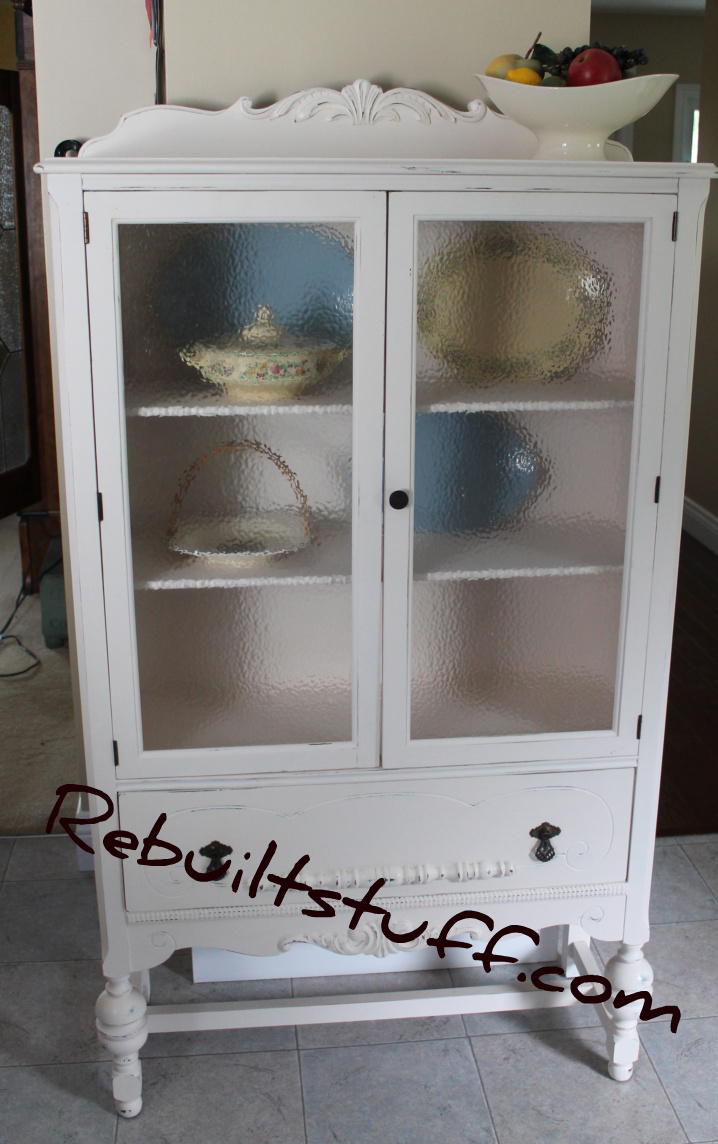 As Is My Habit I Never Took A Before Photo. This Cabinet Is The Exact  Duplicate Of Another Cabinet I Refinished.