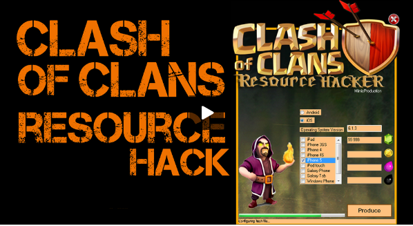 Clash Of Clans Hack Tool Video Tutorial and Proof