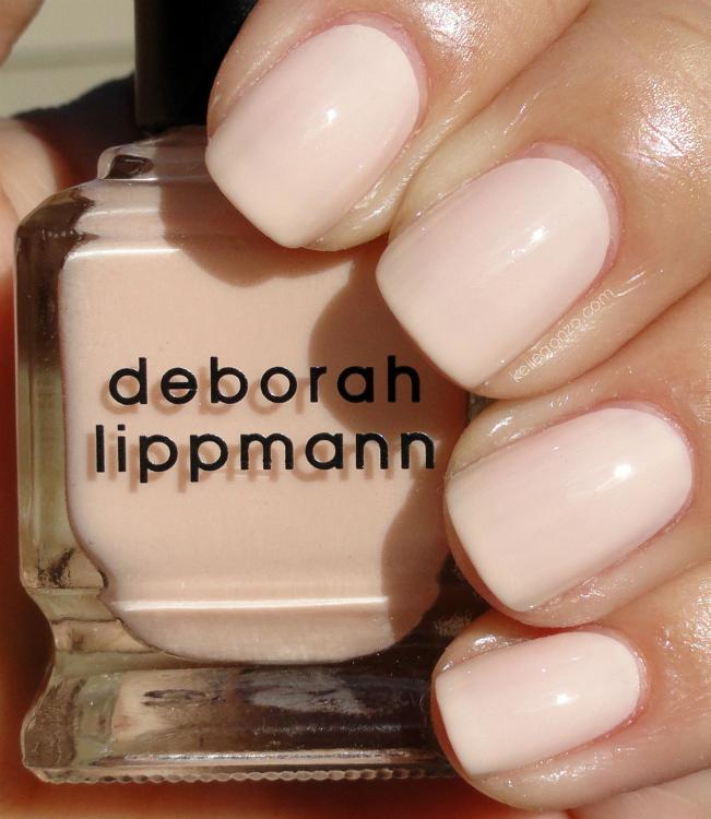 KellieGonzo: Deborah Lippman Sarah Smile & CND Gold Sparkle