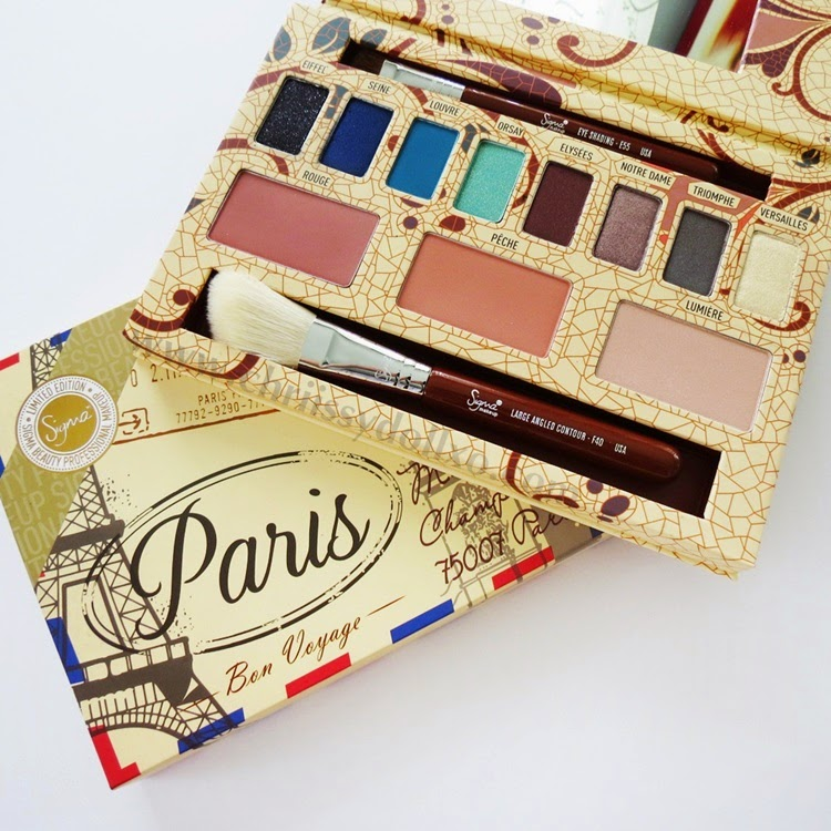 Sigma Beauty Paris Palette (Limited Edition) Review / Swatches / Demo