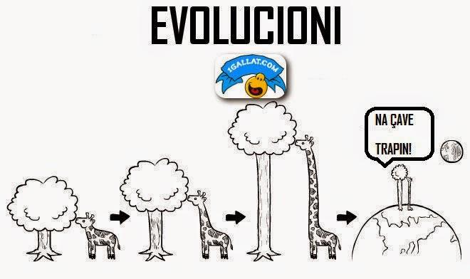 HUMOR : Te Metat e Evolucionit