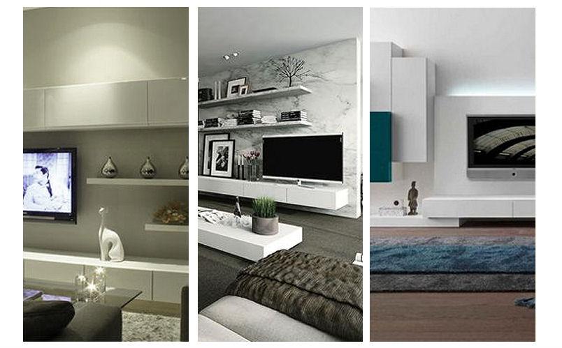Amo la mia casa 10 idee per la parete tv - Idee per ingressi casa ...