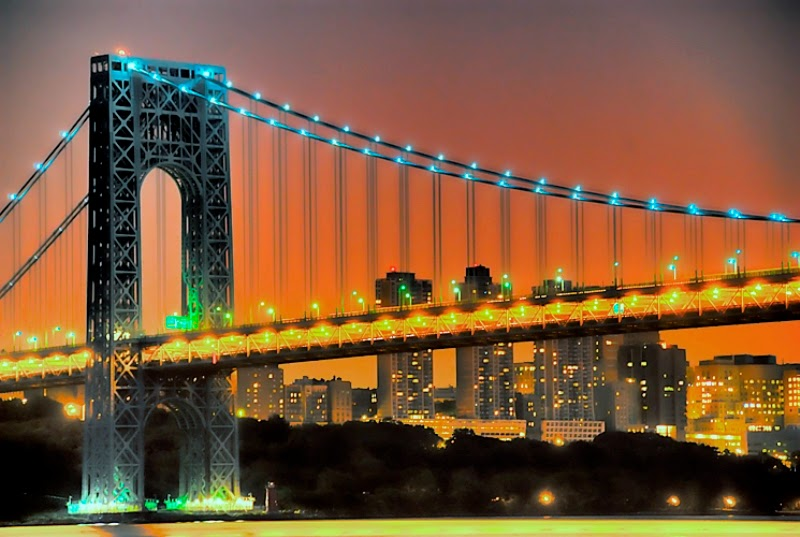 Ponte George Washington Bridge em Nova York