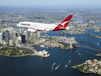 A380 Airbus over Sydney