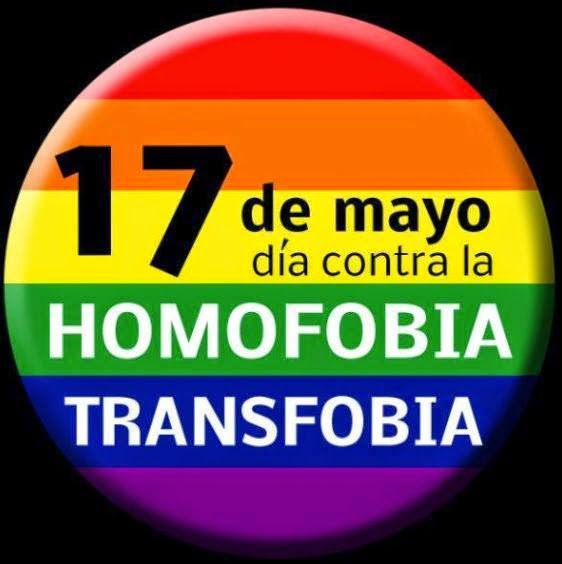 Día Mundial de lucha contra la Homofobia y Transfobia.