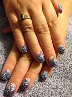 acrylic gel nail polish manicure french nails nail art design