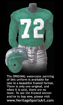 Philadelphia Eagles 1949 uniform