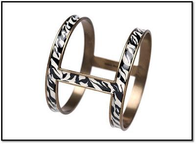 Zebra Square : Manchette bracelet zèbre Isabel Marant