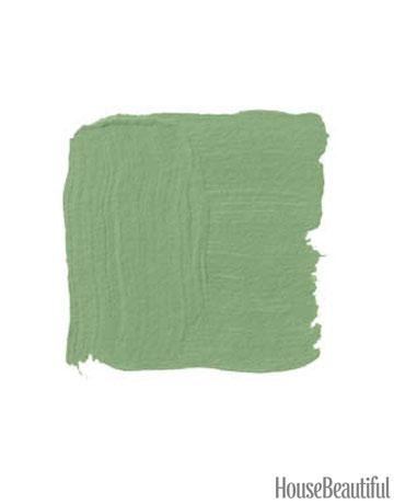 Exterior paint ideas - green door