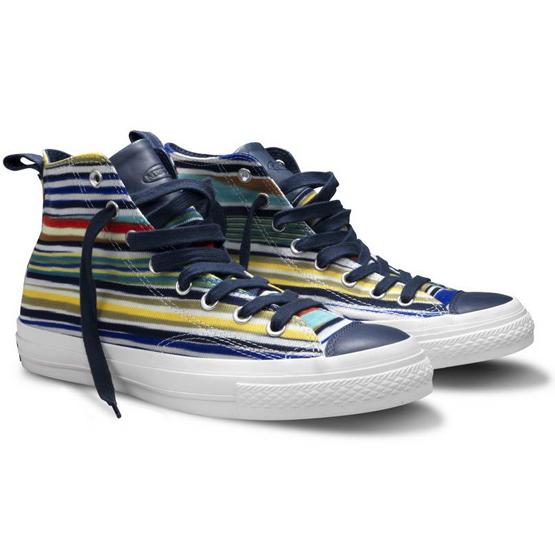 zapatillas Converse y Missoni primavera verano 2011