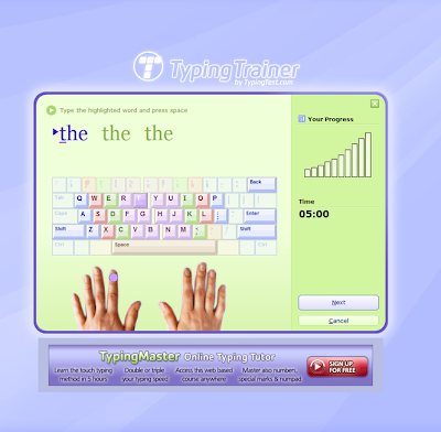 Typing Trainer 8.0 - Practice Tests