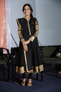 Actress Sree Divya Pictures in Black Salwar Kameez at Nagarapuram Audio Function 0021