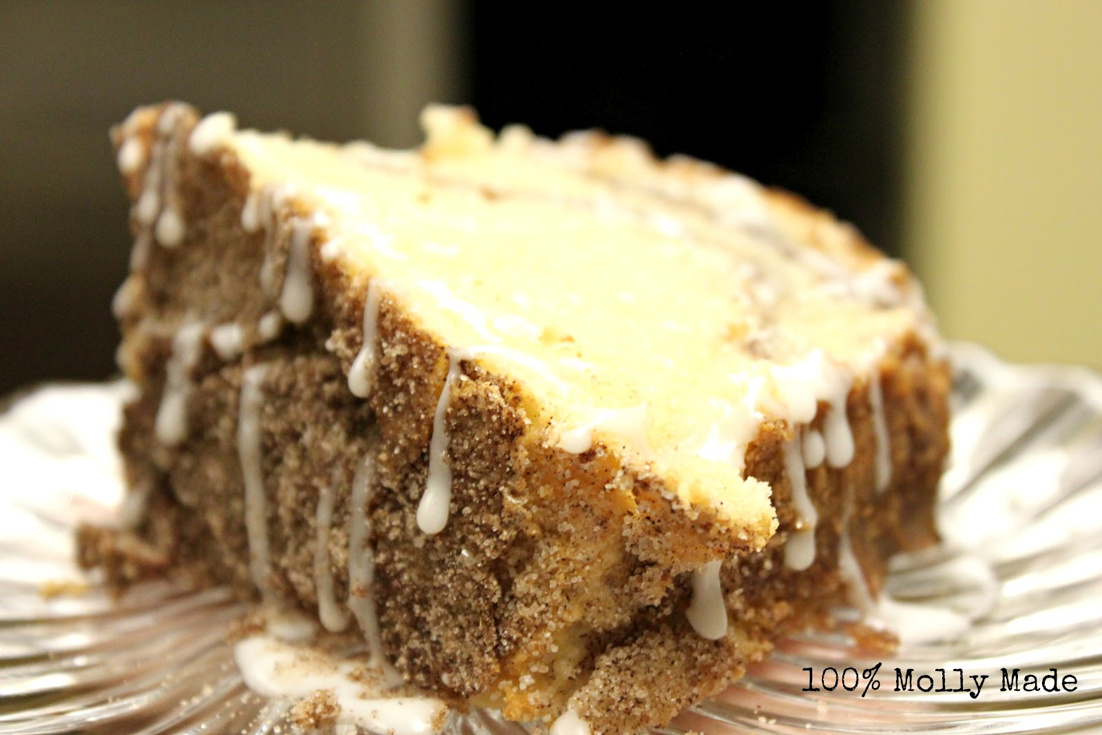 homemade cinnamon coffee cake this is a really great coffee cake ...