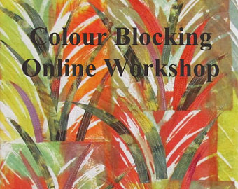 Colour Blocking Online Workshop