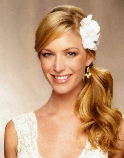 Long Hairstyles for Bridesmaid 2014