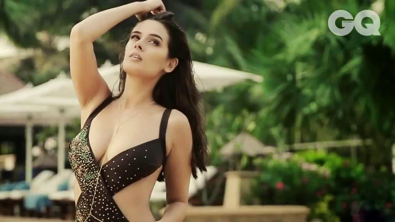Evelyn Sharma Hot Photoshoot in Bikini for GQ Magazine