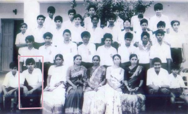 Pawan Kalyan School Rare Pic