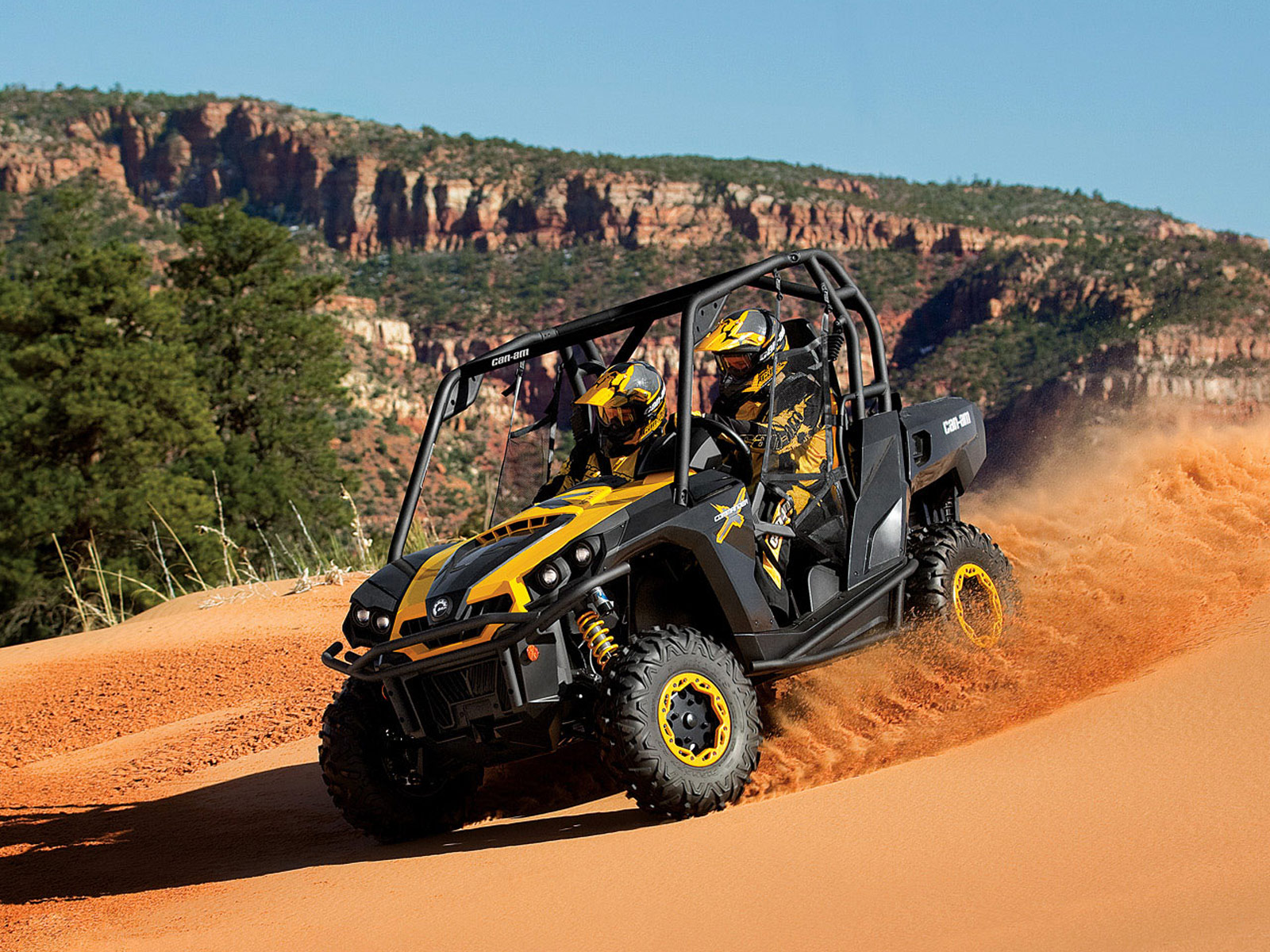 2012 Can-Am Commander 1000X ATV pictures 1