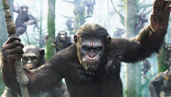 """Andy Serkys es Cesar en """"El Amancer del Planeta de los Simios"""""""