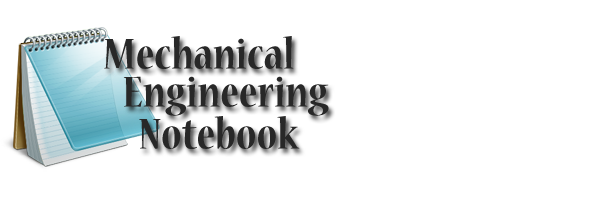 Mechanical Engineering Notebook