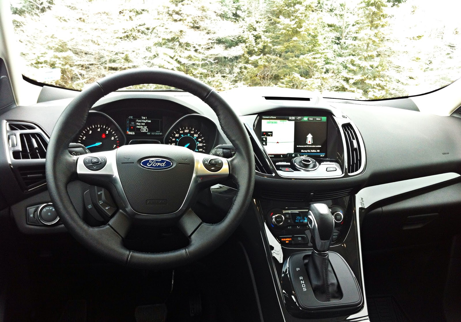 2015 Ford Escape Titanium AWD interior