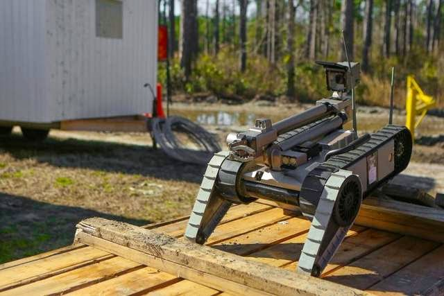 Military News - Marines happily recycle Army bots