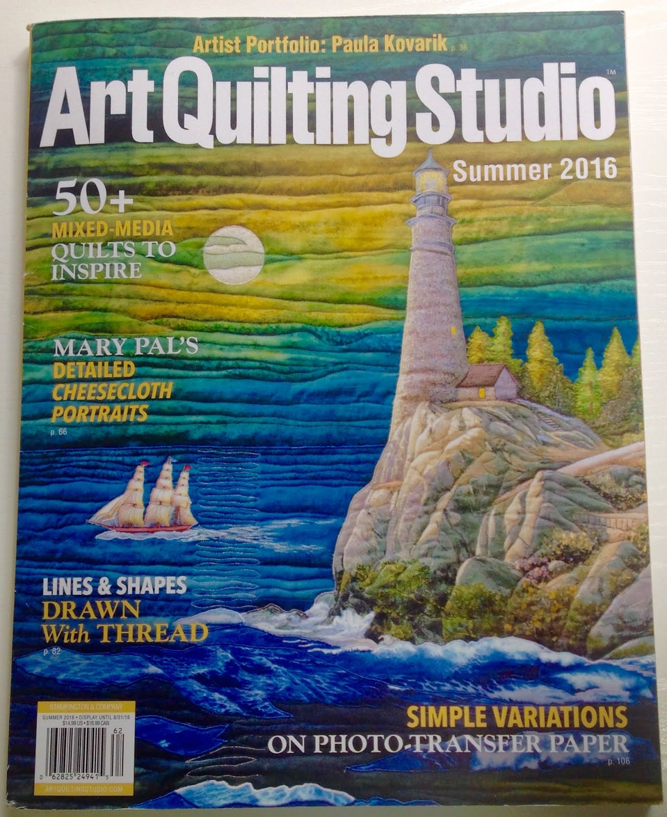 Art Quilting Studio Summer 2016