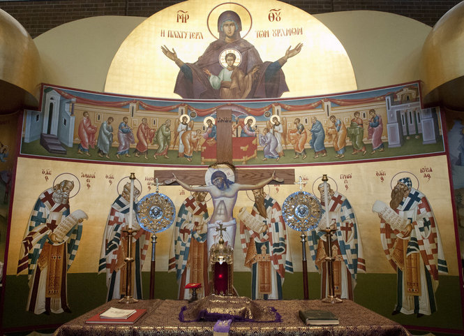 Alpha omega arts greek orthodox church celebrates easter by