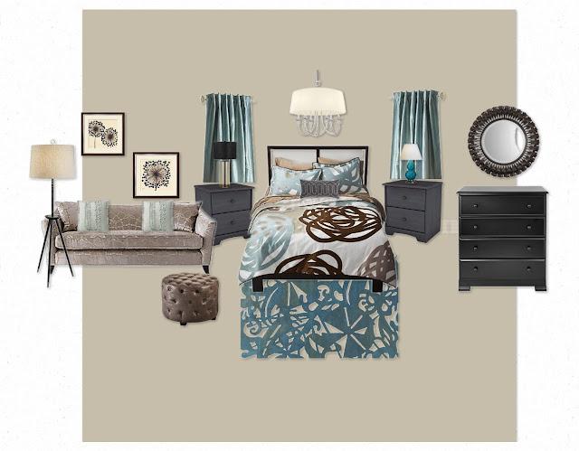 Mom Vs Design School Master Bedroom Mood Board