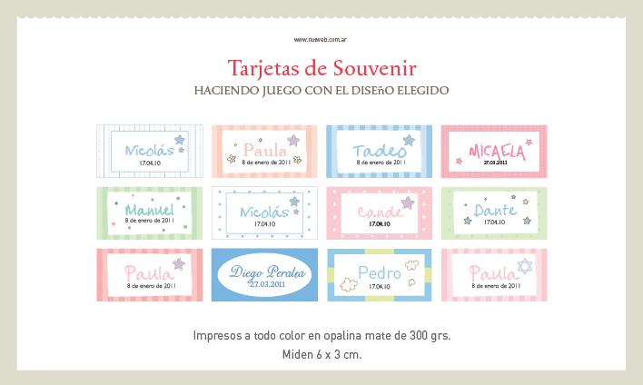 Tarjetitas para imprimir para souvenirs - Imagui
