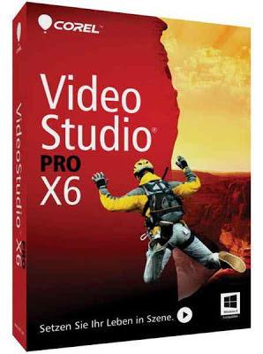 برنامج الكتابة على الفيديو - Corel VideoStudio Pro X6