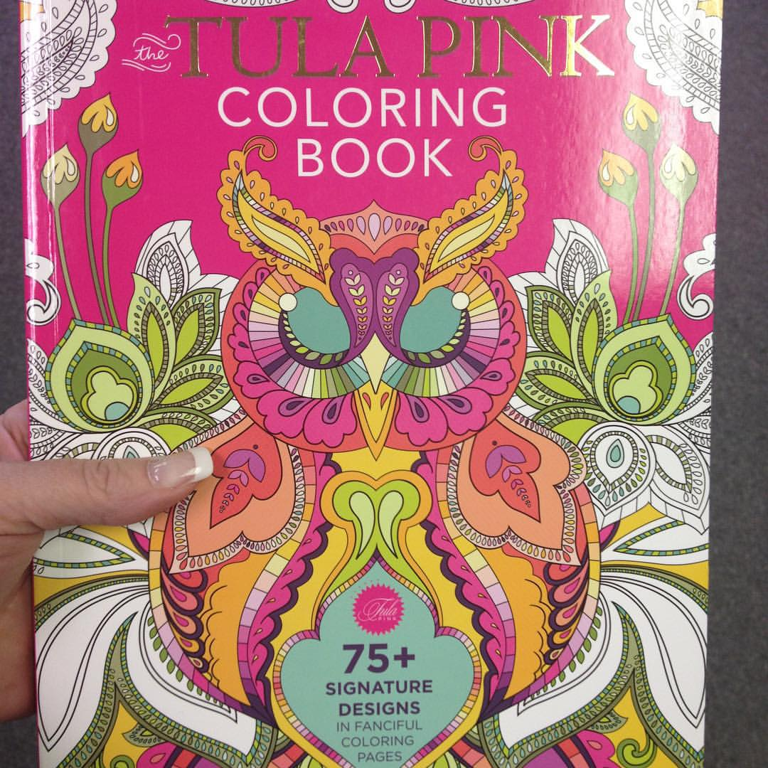 The tula pink coloring book - So If You Want To Take Them Out And Frame Them You Don T Lose The Design On The Other Side Of The Page
