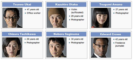 Karakter Shinichi Kudo and the Kyoto Shinsengumi Murder Case Live Movie