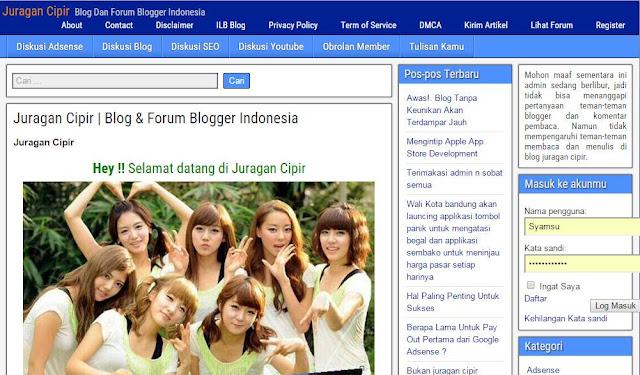 Mengapa Iklan Adsense di Website Juragan Cipir Tidak Tampil ?