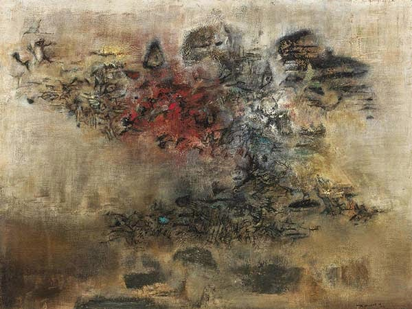 Zao Wou-Ki Vent du Nord (North Wind) 1956
