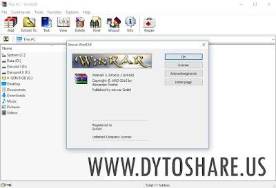 WinRAR 5.30 Beta 3 Full Version