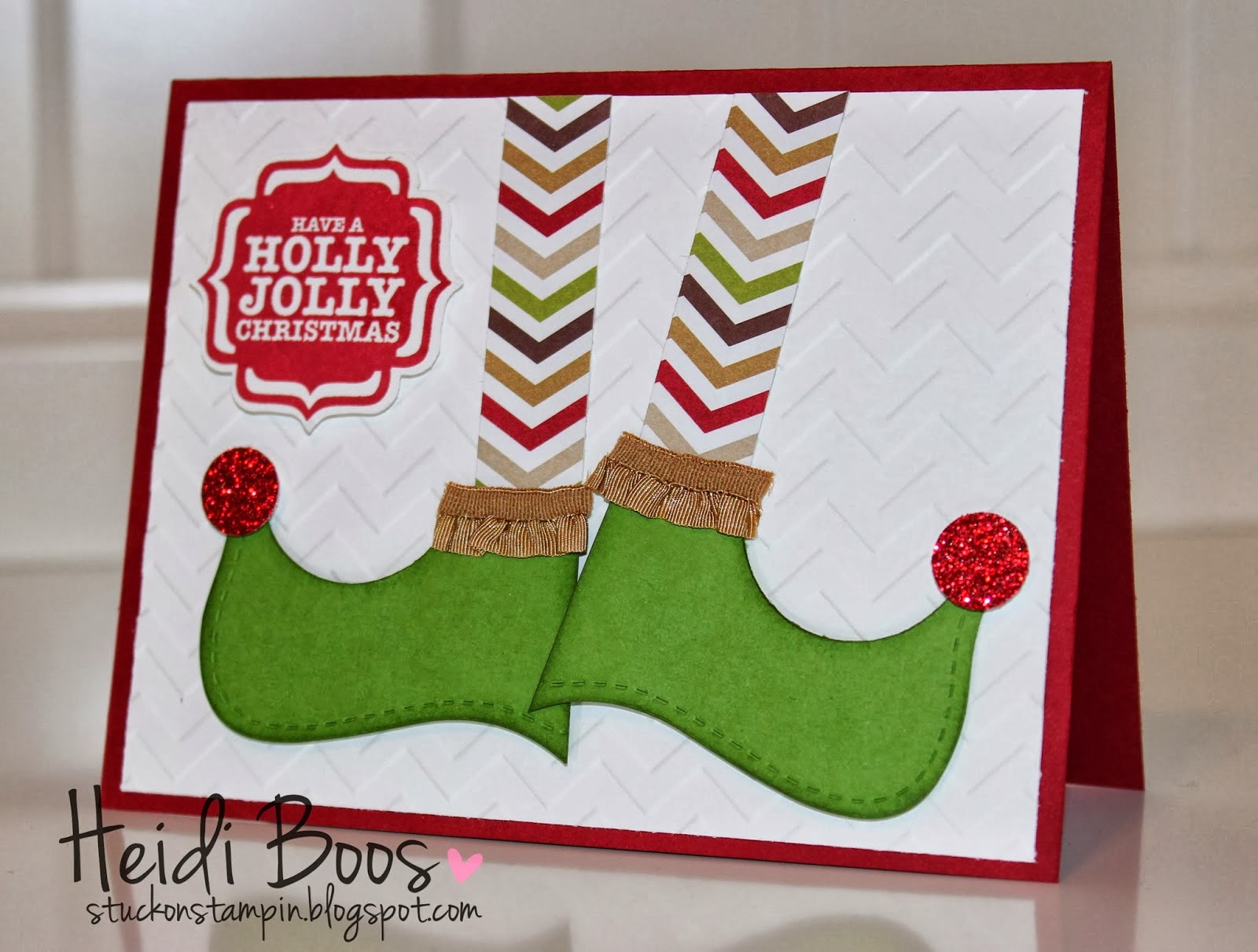 http://stuckonstampin.blogspot.com/2013/11/dancing-christmas-elf-shoes.html