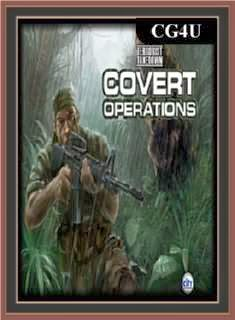 Terrorist Takedown - Covert Operations Cover, Poster