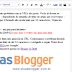 URL completa nos posts do Blogger