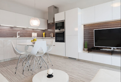 Dapur Minimalis Warna Putih 1
